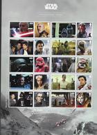 UK, 2019, MNH, STAR WARS, CINEMA, COLLECTOR'S SHEET - Cinema