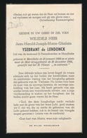 ADEL - JEAN YSEBRNT De LENDONCK  MERELBEKE 1908 - 1956 - Décès