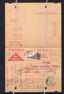 19/12 EMA Contre Remboursement Journal La Liberte Clermont 12 Fr + Taxe Brouage 1956 Olby Puy De Dome Ballage Coheix - Marcofilie (Brieven)