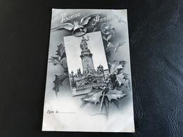 BONNE ANNEE Lyon Le.... 1905 Timbrée - Nouvel An