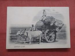 Cotton Cart  India  Ref 3793 - Inde