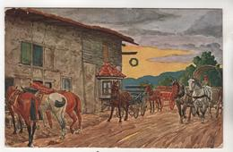+3410, Feldpostkarte, Gelaufen, - Guerre 1914-18