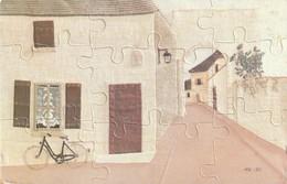 Carte Puzzle - Maison Et Velo - - Mechanical