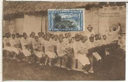 CONGO BELGA ENTERO POSTAL EDUCACION CULTURA ESCUELA SCHOOL - Otros