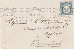 Schweden / 1942 / Militaerpostmarke EF Auf Feldpostbrief (3367) - Military
