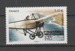 FRANCE / 2013 / Y&T PA N° 77 ** : Roland Garros & Monoplan Morane-Saunier H. (de Feuille) X 1 - 1960-.... Postfris