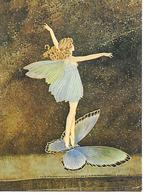 Illustrator - Ida Rentoul Outhwaite -  'The Butterfly Ferry' - Fee, Fée, Fata, Papillon, Schmetterling, Fairy / Modern - Illustrateurs & Photographes