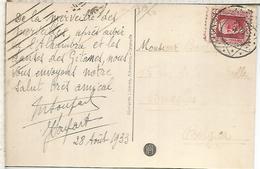 SEGUNDA REPUBLICA TP GRANADA CON MAT BELGICA EN DESTINO - 1931-50 Cartas