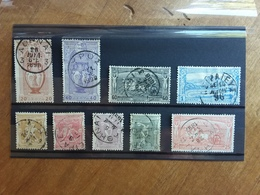 GRECIA 1896 - Olimpiadi - Incompleta - Nn. 101/109 Timbrati + Spese Postali - 1896 Primi Giochi Olimpici