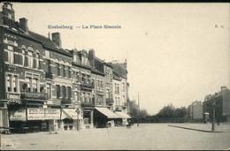 Koekelberg : La Place Simonis - Laeken