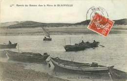 50 , BLAINVILLE , Rentrée Des Bateaux Dans Le Havre De Blainville , * 416 75 - Blainville Sur Mer
