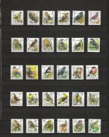 [STCK] Voorafgestempeld Buzin  PRE 815 - 832 ** - Typo Precancels 1986-..(Birds)