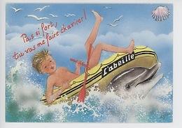 Dauphin: Pas Si Fort Tu Vas Me Chavirer, Bateau L'Abeille Coquillage Enfant (série Mer N°2215/1) - Dolfijnen
