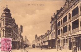 489/ Oxford Street Sydney, Tram 1906 - Sydney