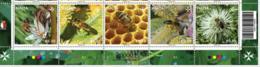 MALTA, 2019, MNH, BEES, APICULTURE IN MALTA, 5v - Abejas