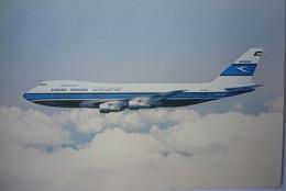 Avion / Airplane / KAC -  Kuwait Airways Corporation / Boeing 747 / Airline Issue - 1946-....: Modern Era