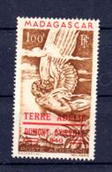TAAF 1948, Madagascar Surchargé Terre D'Adélie, PA 1, Cote 55 € - Terres Australes Et Antarctiques Françaises (TAAF)