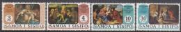 SAMOA, 1974 XMAS 4 MNH - Samoa