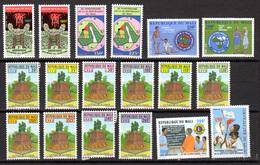 Mali 1993, Année Complète, 590 / 597**+ PA, Cote 168,50 € - Malí (1959-...)
