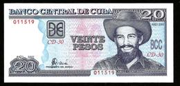 * Cuba 20 Pesos 2002 ! UNC ! - Cuba