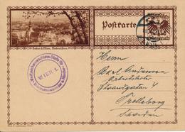 AUSTRIA / WIEN  - 1929 , BPK  Baden B. Wien  -  Nach Trelleborg - Stamped Stationery