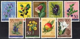 JUGOSLAVIA - 1959 - Medicinal Plants - Flowers In Natural Colors - MNH - 1945-1992 Repubblica Socialista Federale Di Jugoslavia