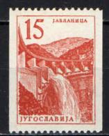 JUGOSLAVIA - 1958 - Titograd Hotel And Open-Air Theater - Perf. 121/2 Horiz. - MNH - 1945-1992 Repubblica Socialista Federale Di Jugoslavia
