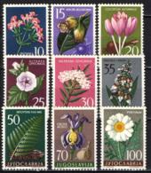 JUGOSLAVIA - 1957 - Medicinal Plants - Flowers In Natural Colors - MNH - 1945-1992 Repubblica Socialista Federale Di Jugoslavia