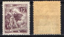 JUGOSLAVIA - 1955 - Livestock Raising - MH - 1945-1992 Repubblica Socialista Federale Di Jugoslavia