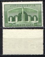 JUGOSLAVIA - 1941 - CIMITERO DI SAN PIETRO A LUBIANA - NUOVO SENZA GOMMA - Nuovi