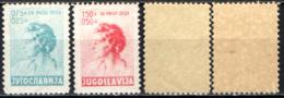 JUGOSLAVIA - 1936 - EFFIGIE DELLA REGINA MADRE MARIA - MH - Nuovi