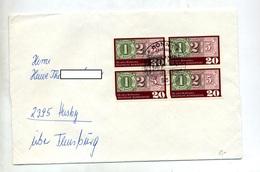 Lettre  Fdc 1965 125 Ans Timbre - FDC: Brieven