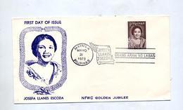 Lettre Fdc 1973 Escoda - Filippijnen