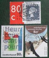 Gecombineerde Uitgave NVPH 1631-1633 (Mi 1532-1534); 1995 Gestempeld / USED Niederlande Netherlands Nederland - 1980-... (Beatrix)