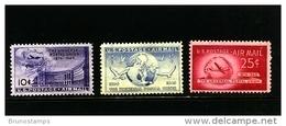 UNITED STATES/USA - 1949   UPU  AIR  MAIL  SET  MINT NH - Stati Uniti