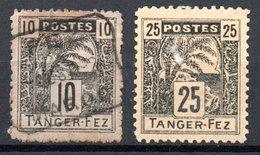 Maroc Marokko Poste Locale Y&T 122° 124° - Marokko (1891-1956)