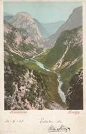 Naerodalen , Norge , 00-10s : Esperanto Stamp On Back - Norway