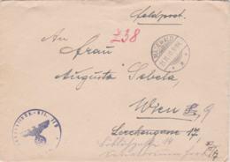 German Feldpost WW2: From A POW Guard In Lithuania - Landesschützen Bataillon 213 (3. Kompanie) In Tilsit - Militaria