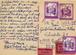 AUSTRIA / AU Bei AFLENZ - 1980 ,  Express Nach Berlin - Stamped Stationery