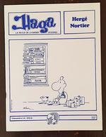 HERGE, NORTIER: REVUE Bande Dessinée HAGA N° 53.En1983. Pub Professeur Tournesol (FRAIS DE PORT INCLUS) - Tintin
