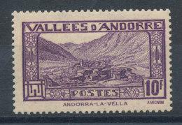 Andorre  N°44** Andorre-la-Vieille Cote 1,50€ - Andorre Français