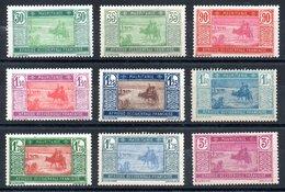 Mauritanie Mauritanien Y&T 57*, 57A*, 58*, 59*, 59A*, 60*, 60A*, 60B*, 61* - Ungebraucht
