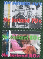 Jaar Van De Film Cinema NVPH 1634-1635 (Mi 1535-1536); 1995 Gestempeld / USED NEDERLAND / NIEDERLANDE - 1980-... (Beatrix)