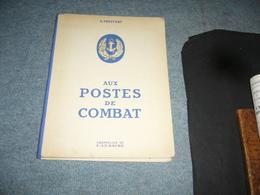 ( Marine Guerre 39-45 ) Truffert  Aux Postes De Combat Aquarelles De C. Le Baube - Guerra 1939-45