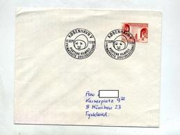 Lettre Cachet Copenhagen  1968 - Affrancature Meccaniche Rosse (EMA)