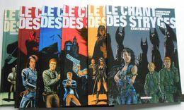 Chant Des Stryges ( Le ) Par GUERINEAU CORBEYRAN  Lot Des 6 Ers Tomes En EO Et Réédition - Lots De Plusieurs BD