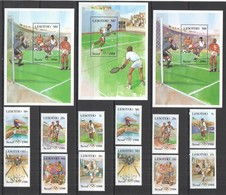 VV303 ONLY ONE IN STOCK LESOTHO OLYMPIC GAMES SEOUL 1988 #622-7,659-4 BL39-40,45 MICHEL 28,5 EU MNH - Verano 1988: Seúl