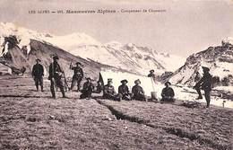 05 - Les Alpes - Manoeuvres Alpines - Campement De Chasseurs (animée 1914) - Non Classificati