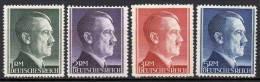 Deutsches Reich - 1942 - Michel N° 799 à 802 ** - Unused Stamps