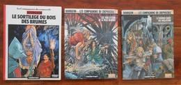 BOURGEON Les Compagnons Du Crépuscule La Trilogie Complète - Lots De Plusieurs BD